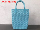 Goyard The Poitiers Bag in Baby Blue Replica