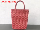 Goyard The Poitiers Bag in Red Replica