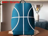 Hermes Cityback 27 Basketball Backpack in Evercolor Calfskin Bleu De Malte and Blanc Replica