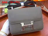 Hermes Constance Bag in Taupe Epsom Calfskin Replica