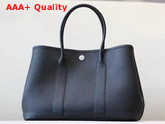 Hermes Garden Party 30 Bag in Black Taurillon Clemence Leather Replica