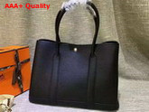 Hermes Garden Party Bag in Black Togo Leather Replica