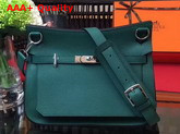 Hermes Jypsiere 28 Bag in Green Taurillon Clemence Leather Replica