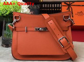 Hermes Jypsiere 28 Bag in Orange Taurillon Clemence Leather Replica