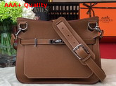 Hermes Jypsiere 28 Bag in Tan Taurillon Clemence Leather Replica