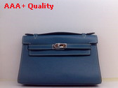 Hermes Kelly 22 Blue Replica