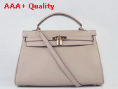 Hermes Kelly 35 Grey Gold Replica