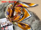 Hermes Silk Scarf 110 Orange Replica