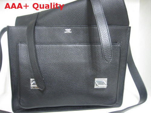 Hermes Steve Messenger Bag Black Replica