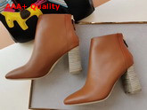Hermes Veronica Ankle Boot Natural Calfskin Replica