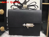 Hermes Verrou Bag in Black Epsom Calfskin Replica