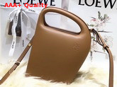 Loewe Architects D Bag Tan Soft Natural Calf Leather Replica