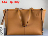 Loewe Cushion Tote Light Caramel Soft Grained Calf Replica