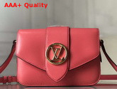LV Pont 9 Dahlia Pink Smooth Cowhide M55949 Replica