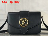 LV Pont 9 Handbag Black M55948 Replica