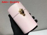 Louis Vuitton 100ml Travel Case in Pink Epi Leather Replica