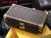 Louis Vuitton 8 Watch Case Monogram Coated Canvas Replica