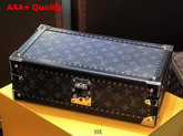 Louis Vuitton 8 Watch Case Monogram Eclipse Coated Canvas Replica