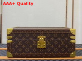 Louis Vuitton Accessories Box Monogram Canvas Brown Microfiber Lining Replica