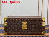 Louis Vuitton Accessories Box Monogram Canvas Rouge Microfiber Lining Replica