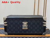 Louis Vuitton Accessories Box Monogram Eclipse Coated Canvas Red Microfiber Lining M44127 Replica