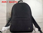 Louis Vuitton Alex Backpack in Black Taiga Leather M30258 Replica