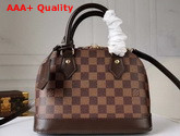 Louis Vuitton Alma BB Damier Ebene Canvas N41221 Replica N41221