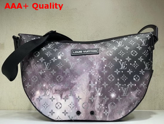 Louis Vuitton Alpha Hobo in Printed Monogram Galaxy Canvas M44164 Replica M44164