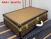 Louis Vuitton Alzer 65 Suitcase Monogram Reverse Canvas and Monogram Canvas Replica