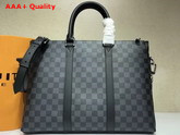 Louis Vuitton Anton Briefcase Damier Graphite Canvas N40024 Replica