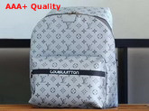 Louis Vuitton Apollo Backpack Monogram Reflect Coated Canvas Silver M43845 Replica