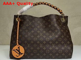 Louis Vuitton Artsy MM Monogram Canvas Braided Top Handle M43994 Replica