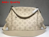 Louis Vuitton Babylone Chain BB Cream Mahina Perforated Calf Leather Replica