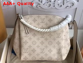 Louis Vuitton Babylone Chain BB Creme Mahina Perforated Calf Leather M51767 Replica