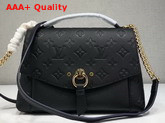 Louis Vuitton Blanche BB Monogram Empreinte Black Replica