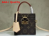 Louis Vuitton Bleecker Box Monogram Canvas Replica