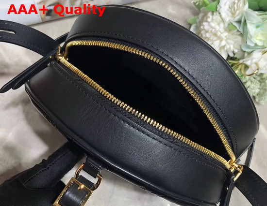 Louis Vuitton Boite Chapeau Souple Noir Monogram Vernis Leather M53999 Replica