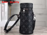 Louis Vuitton Bottle Holder in Monogram Eclipse Canvas GI0398 Replica