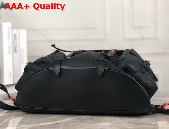 Louis Vuitton Christopher Backpack GM Black Taurillon Leather M53285 Replica