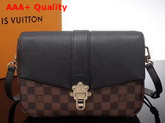 Louis Vuitton Clapton Damier Ebene Black Replica N44243