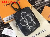 Louis Vuitton Coin Pouch Bag Charm and Key Holder Replica