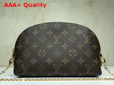 Louis Vuitton Cosmetic Pouch with Chain Shoulder Strap Monogram Canvas Replica