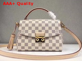 Louis Vuitton Croisette Damier Azur Coated Canvas N41581 Replica