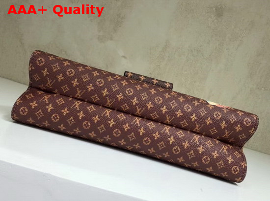 Louis Vuitton Crown Frame Transformed Monogram Coated Canvas Exterior M43946 Replica M43946