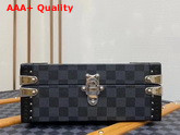 Louis Vuitton Cufflinks Box Damier Graphite Canvas N48248 Replica