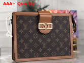 Louis Vuitton Dauphine Pochette Voyage MM Monogram Canvas Replica