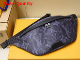 Louis Vuitton Discovery Bumbag Monogram Pastel Noir Coated Canvas M57276 Replica