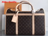 Louis Vuitton Dog Carrier 50 Monogram Canvas M42021 Replica