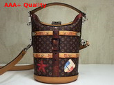 Louis Vuitton Duffle Bag Transformed Monogram Coated Canvas and Calf Leather Exterior M52276 Replica