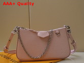 Louis Vuitton Easy Pouch On Strap Rose Ballerine Pink Epi Embossed Supple Grained Cowhide Leather M80483 Replica